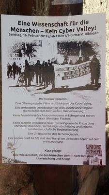 Tü Demo Kein CyberValley Feb2019